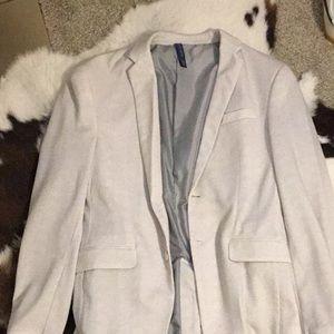 Zara white cream blazer and suit